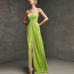 Kalp Yaka Pronovias Parti Elbisesi Modelleri