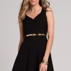 Kolsuz 2015 Siyah Elbise Modelleri