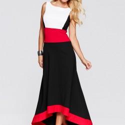 Macenta Rengi 2015 Yazlık Elbise Modelleri