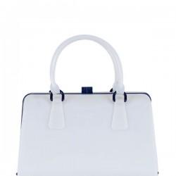 Sade Beyaz Matmazel Çanta Modelleri
