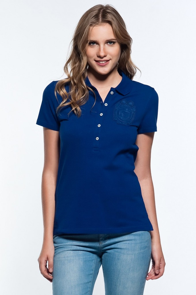 Saks Mavisi Lacoste Polo Yaka T-shirt Modelleri