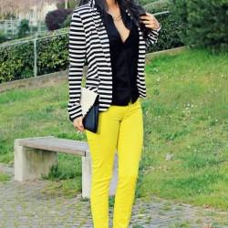 Sarı 2015 Neon Pantolon Modelleri