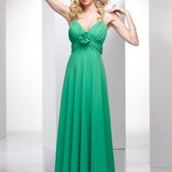 Yeşil 2015 Spagetti Askılı Elbise Modelleri