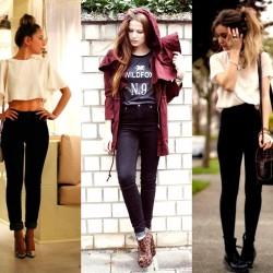 Yeni Yüksek Bel Pantolon Modelleri