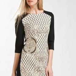 Zarif Jakarlı Elbise Modelleri