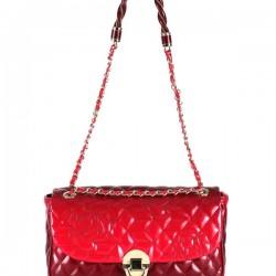 Zincir Askılı Kırmızı Matmazel Çanta Modelleri