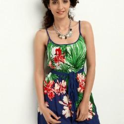 Çiçekli Askılı Colin's Yazlık Elbise Modelleri