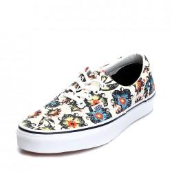 Çiçekli Beyaz Vans Ayakkabı Modelleri