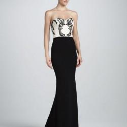 Şık Straplez Elbise Modelleri