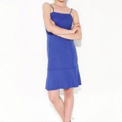 Askılı Saks Mavisi Park Bravo 2015 Elbise Modelleri