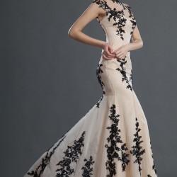 Balık Etek Güpürlü Elbise Modelleri