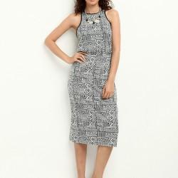 Desenli Kolsuz Colin's Yazlık Elbise Modelleri
