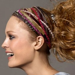 Rengarenk İnce Saç Bandı Modelleri