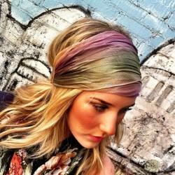 Renkli Saç Bandı Modelleri