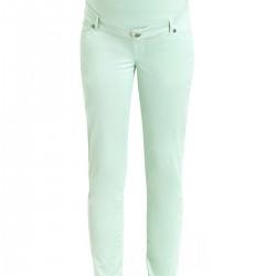Su Yeşili Dar Pantolon Gebe Yeni Sezon Hamile Giyim