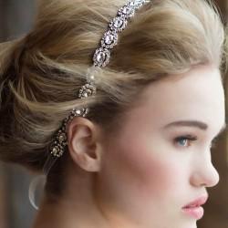 Taş Süslemeli Saç Bandı Modelleri