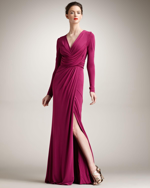 Fotos 2013 arkas uzun elbise abiye modelleri picture - Y Rtma Detayl Fu Ya Uzun Kollu Abiye Modelleri Jpg