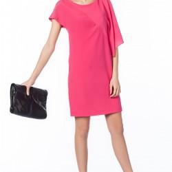 Zarif Pembe Zara Elbise Modelleri