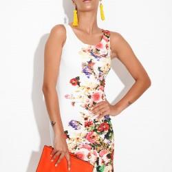 Çiçek Desenli Sense 2015 Elbise Modelleri
