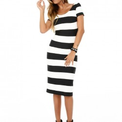 Çizgili Sense 2015 Elbise Modelleri