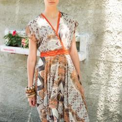 Asimetrik Kesim Elbise Codentry Yaz Sezonu Modelleri