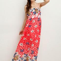 Askılı Çiçek Desenli Sense 2015 Elbise Modelleri