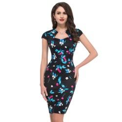 En Şık Vintage Elbise Modelleri 2015