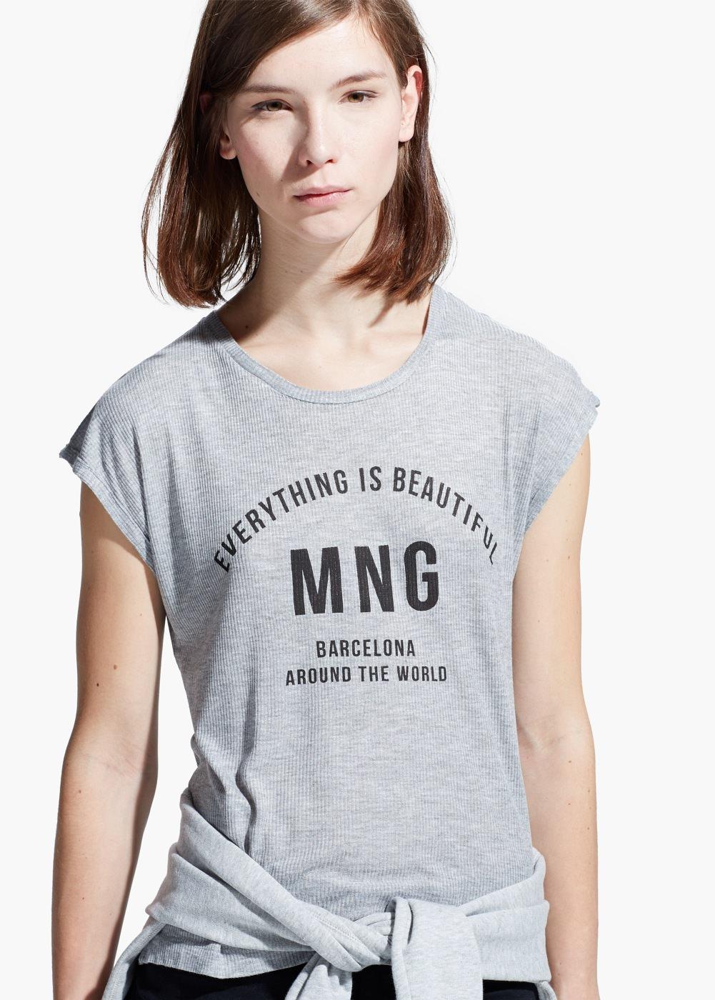 En şık mango tişört modelleri 2015