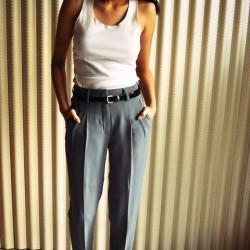 En Güzel Pileli Pantolon Modelleri