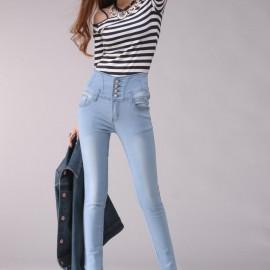En güzel yüksek bel pantolon modelleri 2015