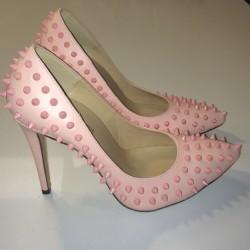 En zarif zımbalı ayakkabı modeli