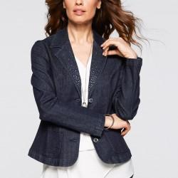 Jean Blazer Ceket 2015 Trendleri
