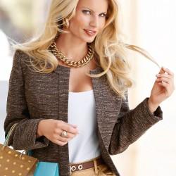 Kısa Blazer Ceket 2015 Trendleri
