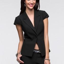 Kısa Kol Siyah Blazer Ceket 2015 Trendleri