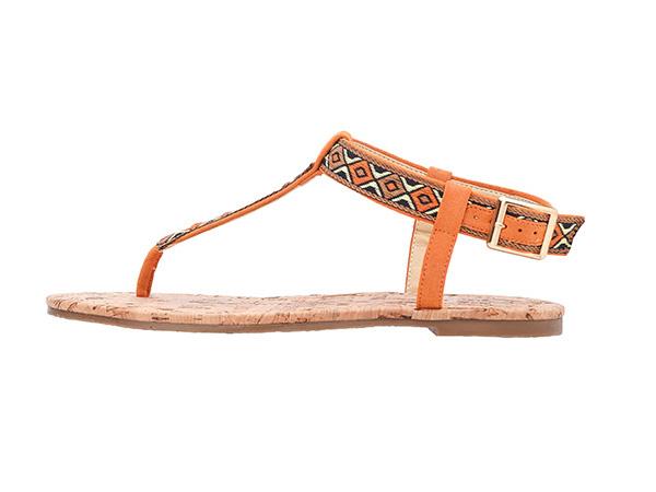 Parmak Arası Sandalet Etnik Desenli Ayakkabı Modelleri