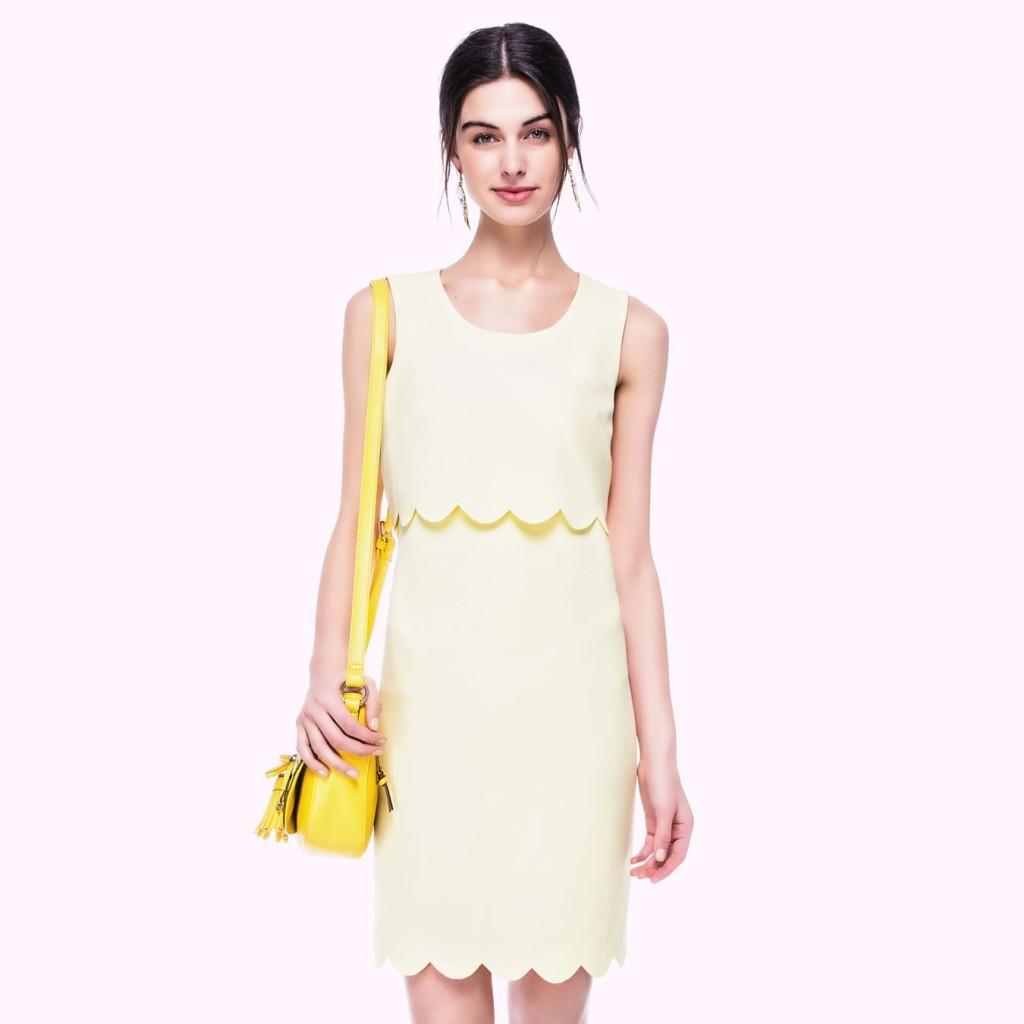Sıfır kol mini ipekyol elbise modeli 2015