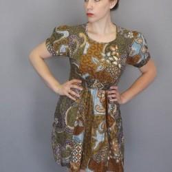 Vintage Elbise Modelleri 2015