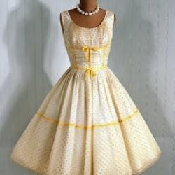 Vintage Elbise Modelleri Yeni Sezon