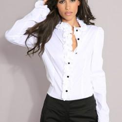 Volanlı Gömlek Modelleri 2015