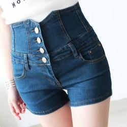 Yüksek bel kısa kot pantolon modelleri
