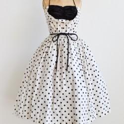 Yeni Sezon Vintage Elbise Modelleri