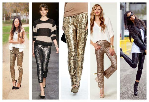 2015 yeni sezon payetli pantolon modelleri