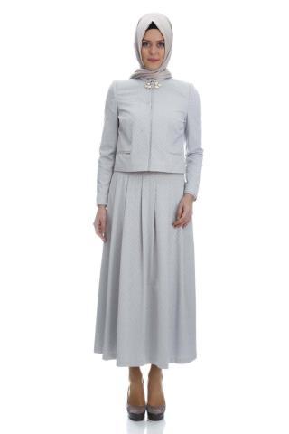 Armine tesettür takım elbise modeli 2015