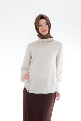 Boncuklu Armine Bluz Modeli 2015