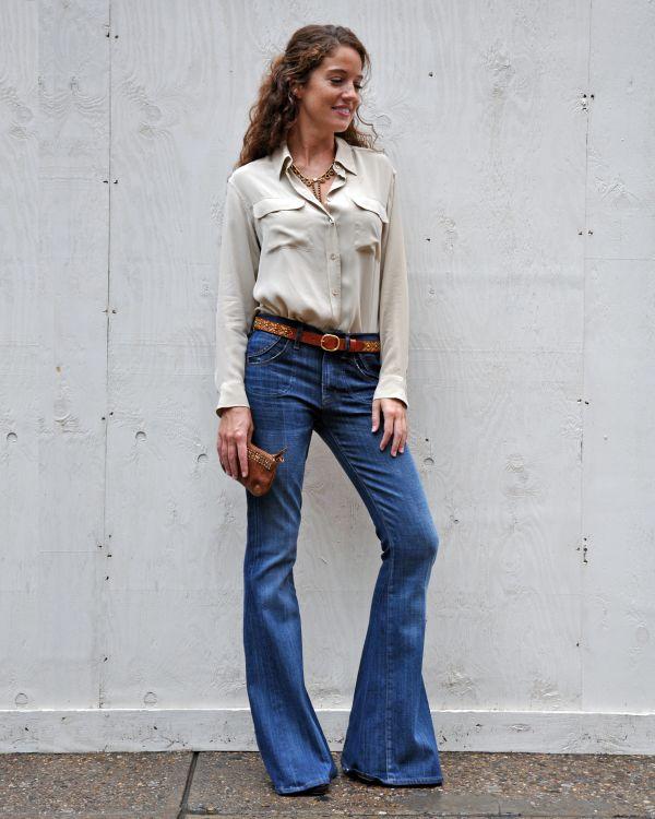 En Şık Flare Pantolon Modelleri