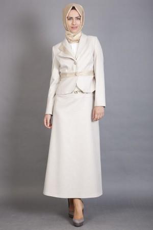 En şık Armine tesettür takım elbise modelleri