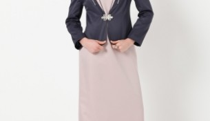En güzel tesettür takım elbise modelleri