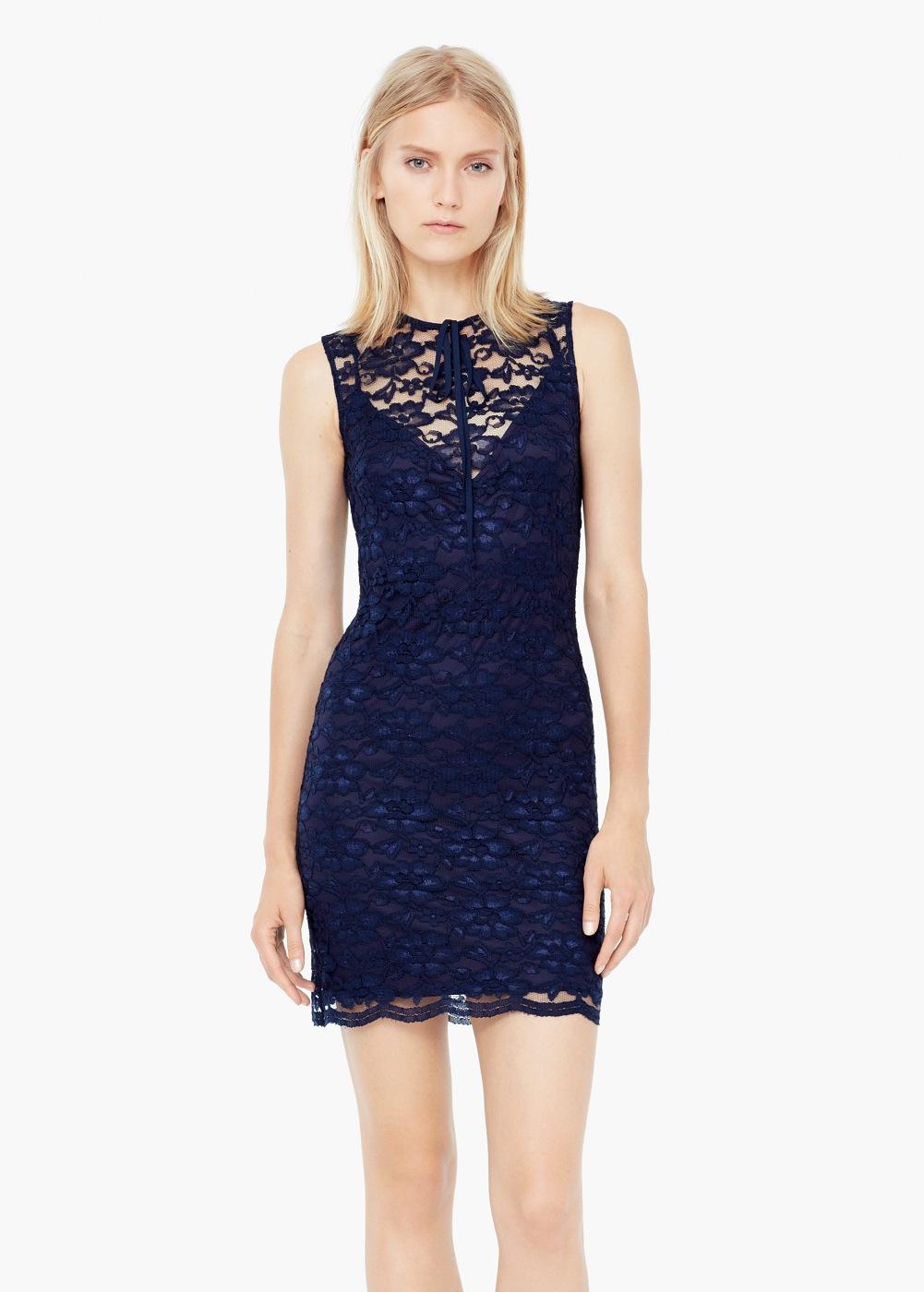 Mago dantel elbise modeli 2015