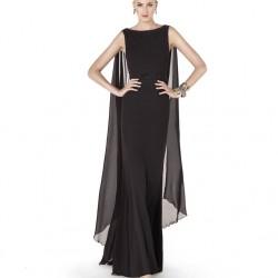 Siyah Renkli Pronovias Abiye Modeli