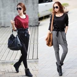 Sokak modası şalvar pantolon modelleri